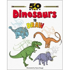 50 Nifty Dinosaurs to Draw