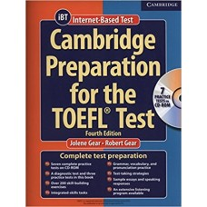 Cambridge Preparation for the TOEFL® Test Book with CD-ROM