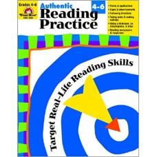 Authentic Reading Practice, Grades 4-6