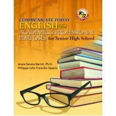 Communicate Today: English for Academic & Professional Purposes for Senior High School (MTB)