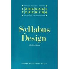 Language Teaching: Syllabus Design