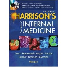 Harrison's Principles of Internal Medicine (Two-Volume Set) with DVD-Rom