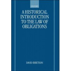A Historical Introduction to the Law of Obligations