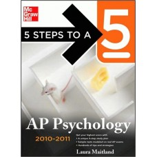 5 Steps To A 5 Ap Psychology, 2010-2011