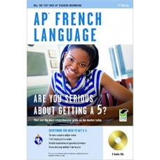 AP French Language Books with 3 Audio CDs