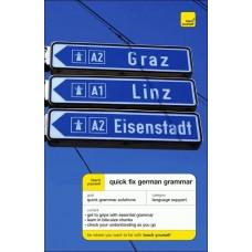 Teach Yourself Quick Fix German Grammar