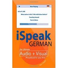 iSpeak German Phrasebook with MP3 Audio CD-Rom